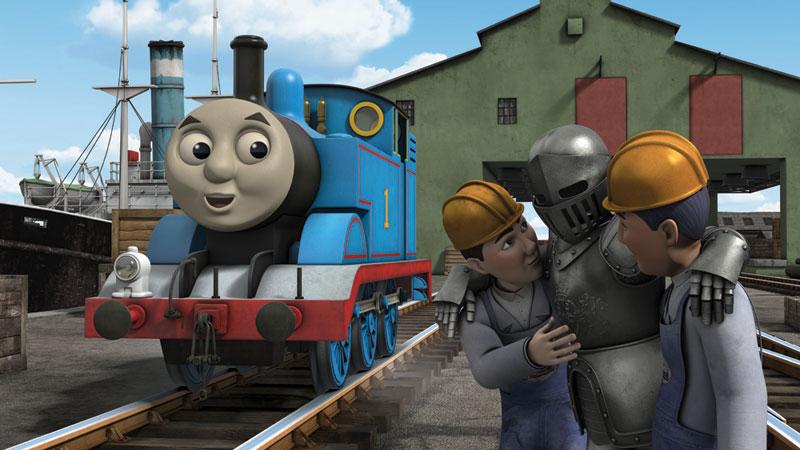 湯瑪士 小 火車 電影 版 鐵路 小 英雄